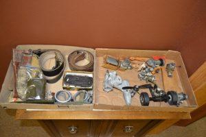 Various mechanical parts